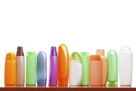 haircare bottles