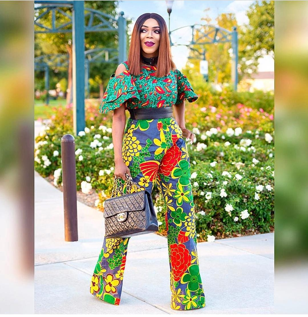 9 Ways To Rock Your Ankara Jumpsuit In Style Click042