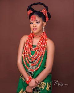 avant garde traditional wedding hairstyle, african threading